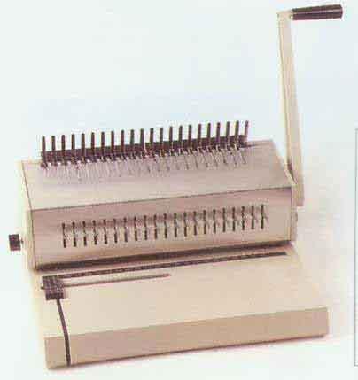Punch Binding Machine 21