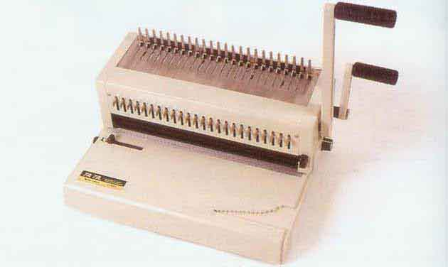 2 in 1 Plastic & Wire Punch & Binding Machine 24 - Holes
