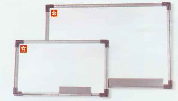 Timco Whiteboard Wall Aluminum Frame and Whiteboards/Corkboards Back ...